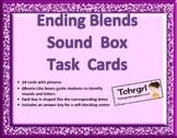 Elkonin Phonics Sound Box Task Cards--Ending Blends