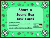 Elkonin Phonics Sound Box Task Cards--Short A--Word Work-Literacy Centers