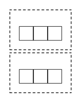 Elkonin boxes worksheet free worksheets library download and make your own printable word shapes worksheets a to z teacher pronofoot35fo Gallery