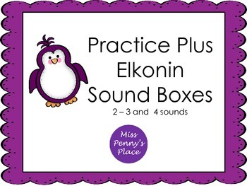 Elkonin Sound Boxes