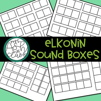 Elkonin Sound Boxes