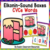 Elkonin Sound Boxes CVCe Words