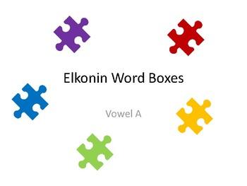 Elkonin Word Boxes (Vowel A)