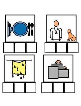 Elkonin boxes- CVC spelling practice