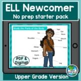 Ell Newcomer No-Prep Starter Pack for Upper Grades