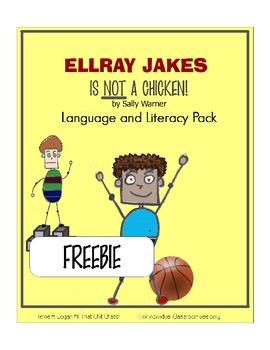 EllRay Jakes is NOT a Chicken! FREEBIE