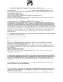 Ella Baker Primary Source Analysis Lesson