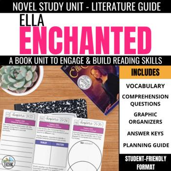 Ella Enchanted Foldable Novel Study Unit