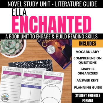 Ella Enchanted Novel Study Unit