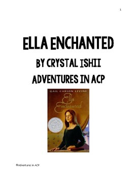 Ella Enchanted Adapted