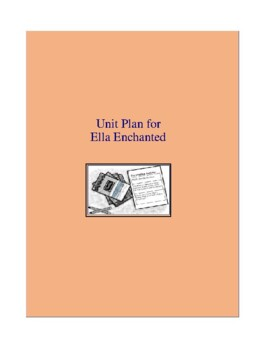 Ella Enchanted Complete Literature and Grammar Unit