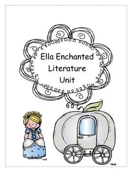 Ella Enchanted Literature Study Unit