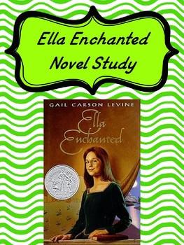 Ella Enchanted Novel Study