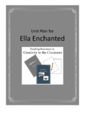 Ella Enchanted Novel Unit Plus Grammar