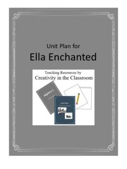 Ella Enchanted Novel Unit Plus Grammar