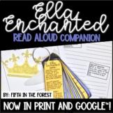 Ella Enchanted Read Aloud Companion for Distance Learning