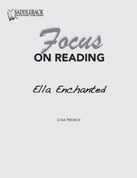 Ella Enchanted Study Guide: Focus on Reading