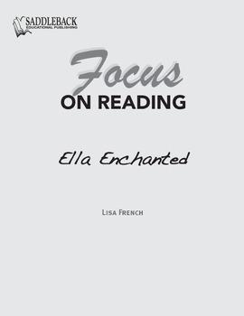 Ella Enchanted Study Guide: Focus on Reading