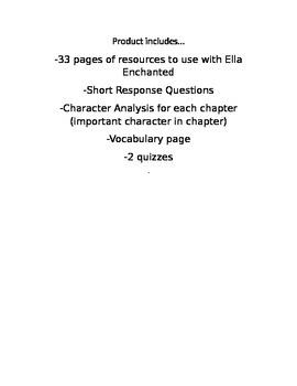 Ella Enchanted Unit