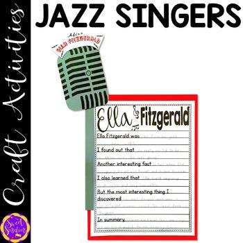 Ella Fitzgerald, Billie Holiday  (Black History; Jazz Legends)