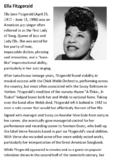 Ella Fitzgerald Handout