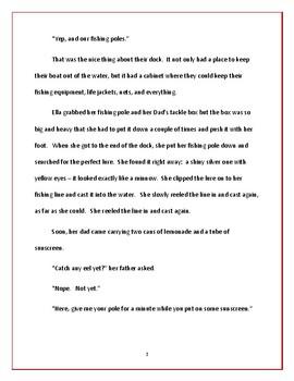 Ella's Quest for Eel - Short Story