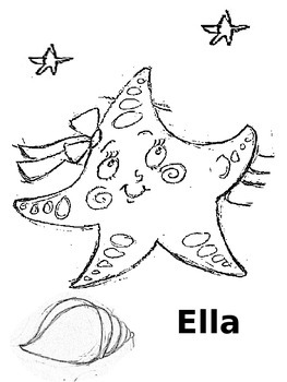Ella & the All-Stars Book Coloring Pages