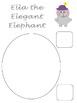 Ella the Elegant Elephant Craft Freebie