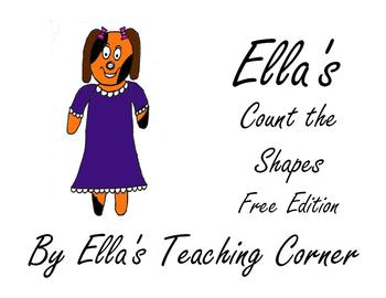 Ella's Count the Shapes Free Edition
