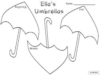 Ella's Umbrellas Activity Packet
