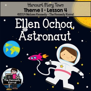 Ellen Ochoa, Astronaut  {Lesson 4}