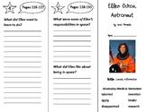 Ellen Ochoa, Astronaut Trifold - Storytown 3rd Grade Unit 1 Week 4