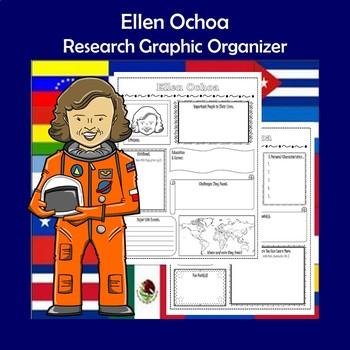 Biography Ellen Ochoa Worksheets Teaching Resources TpT