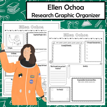 Ellen Ochoa Biography Research Graphic Organizer