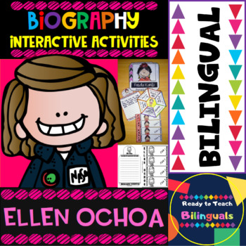 Ellen Ochoa - Interactive Activities - Dual Language