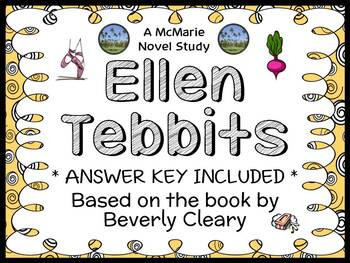 Ellen Tebbits (Beverly Cleary) Novel Study / Reading Compr