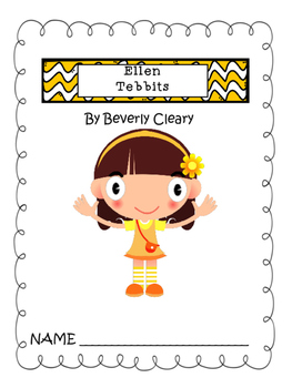 Ellen Tebbits by Beverly Cleary (packet and test)