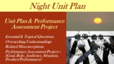 Night by Elie Wiesel - Unit Plan with Performance Based As