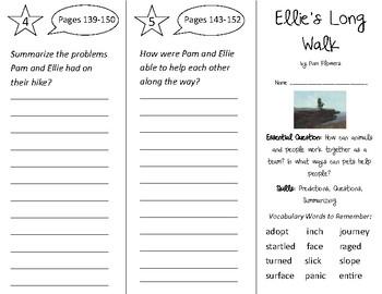 Ellie's Long Walk Trifold - Open Court 2nd Grade Unit 1 Lesson 6