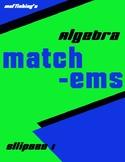Ellipse Matching I