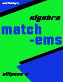 Ellipse Matching II