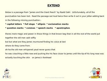 Ellipsis Teaching PowerPoint