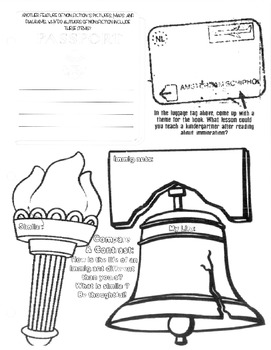 Ellis Island Guided Reading Packet