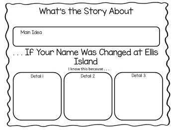 . . . If your Name was Changed at Ellis Island~36 pgs of Common Core Activities