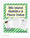 Ellis Island Immigration Statistics and Place Value Activities