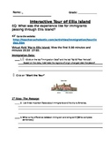 Ellis Island Interactive Webquest Research Writing Project
