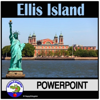 Ellis Island PowerPoint - Vocabulary for Understanding Immigration