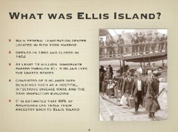 Ellis Island Powerpoint