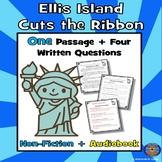 Ellis Island Reading Comprehension: Winter Reading Comprehension + Audiobook