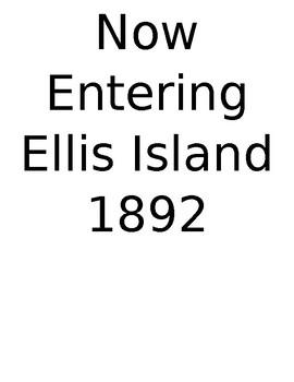 Ellis Island Simulation Activity